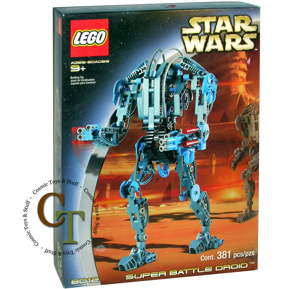 lego star wars technic super battle droid 8012 673419010344 ebay. Black Bedroom Furniture Sets. Home Design Ideas