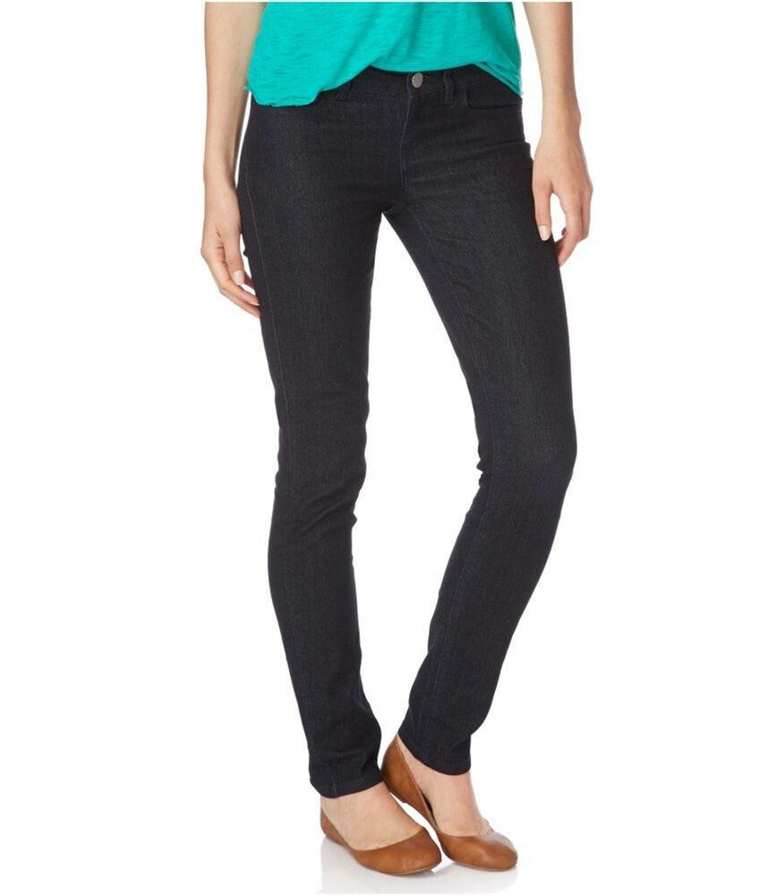 Stretchy faux denim jeggings have contrast stitching to make them look like real jeans! Stretchy, soft and oh so comfy denim jeggings for women!