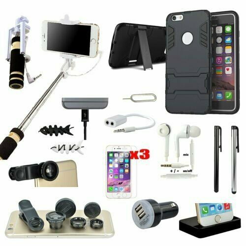 apple iphone 6 accessories 16 in 1 accessory bundle monopod charger for iphone 6 13444