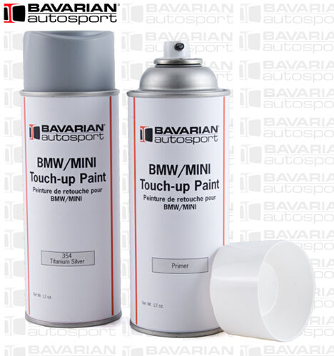 bmw touch up paint 12 oz spray can alpine white iii