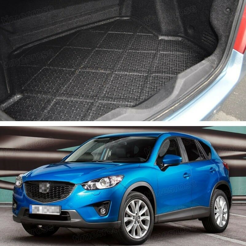 rear car boot cargo trunk mat tray floor mat for mazda cx 5 2013 2016 2014 2015 ebay. Black Bedroom Furniture Sets. Home Design Ideas