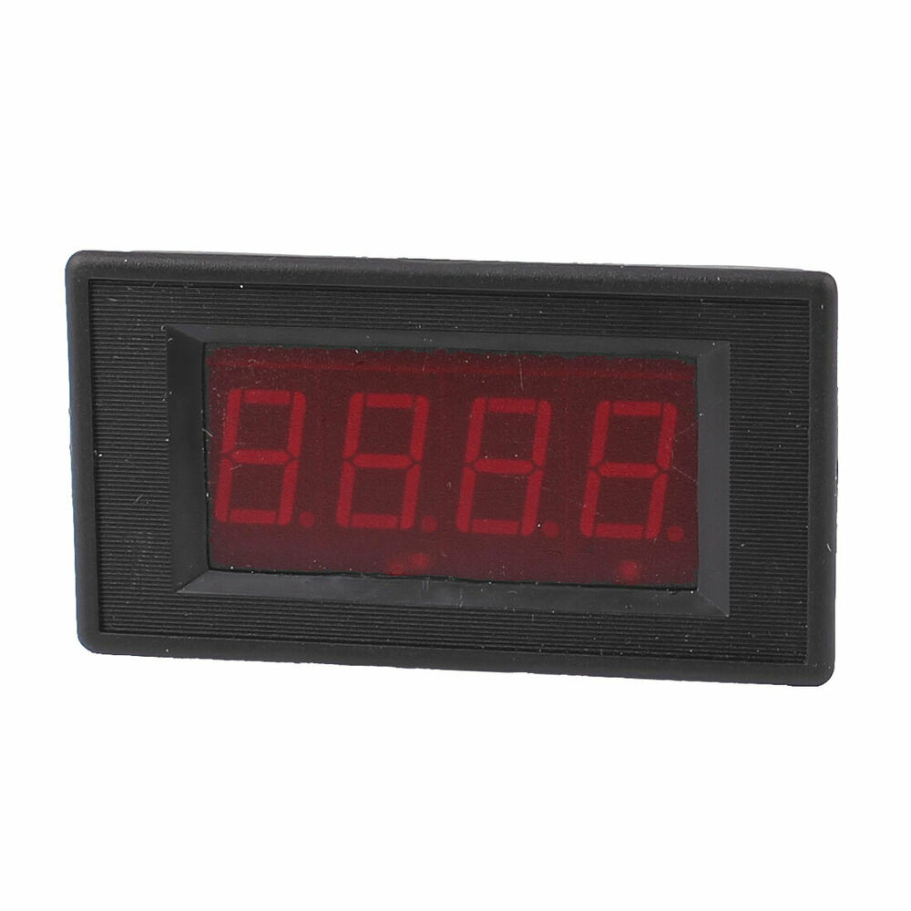 Ac Panel Meters : Ac v input volt digit digital display voltmeter