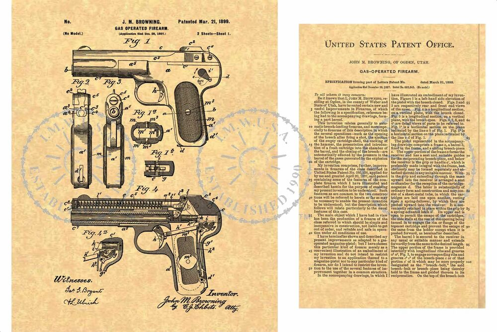 how john m browning's inventions have Did you know that legendary gun maker and inventor, john m browning was a mormon  regardless of their position on john moses browning  what is autodesk.