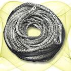 10mm x 50m Grey DYNEEMA SK-75 SYNTHETIC WINCH ROPE CABLE UHMWPE 9.5T 4X4 4WD ATV