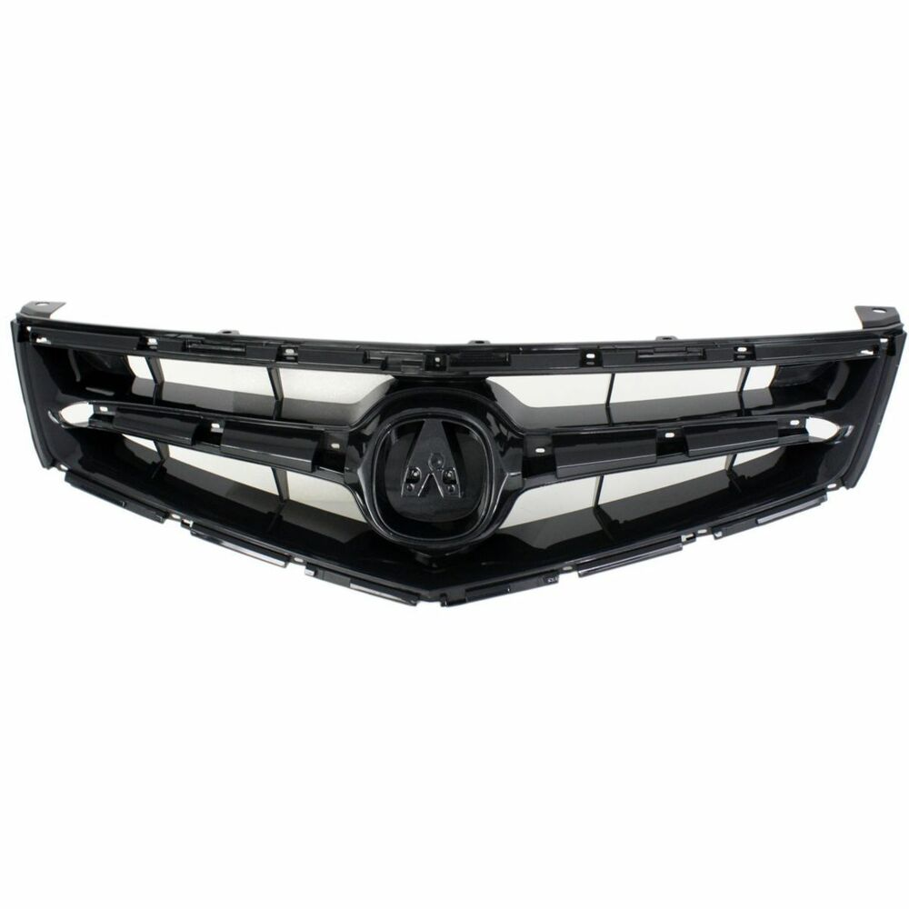NEW FRONT GRILLE ABS BLACK FOR 2006-2008 ACURA TSX