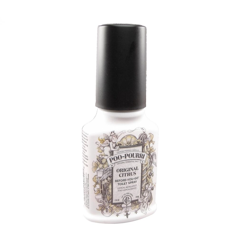2oz Travel Poo Pourri Original Scent Bathroom Deodorizer