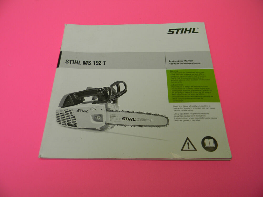 Stihl Chainsaw 011av Service Manual