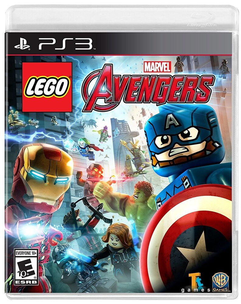 New Lego Games For Ps3 : Lego marvel avengers sony playstation brand new