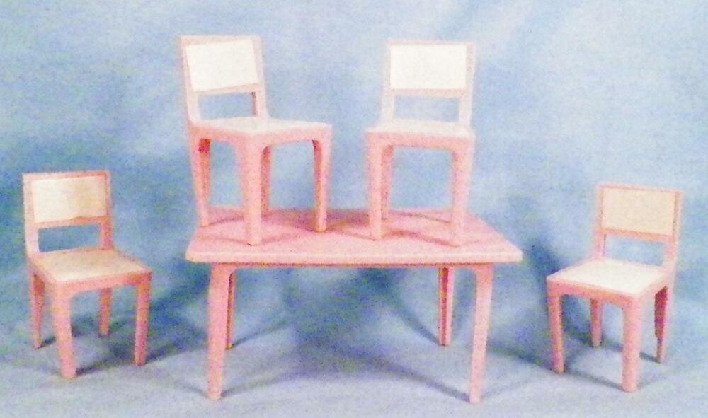 Very grateful vintage plastic dollhouse furniture