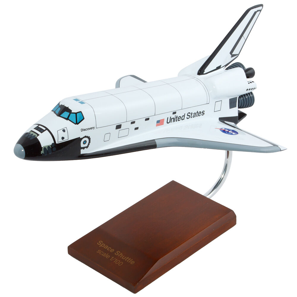 Nasa Space Shuttle Discovery Orbiter Desk Top Display 1 100 Spacecraft Es Model Ebay