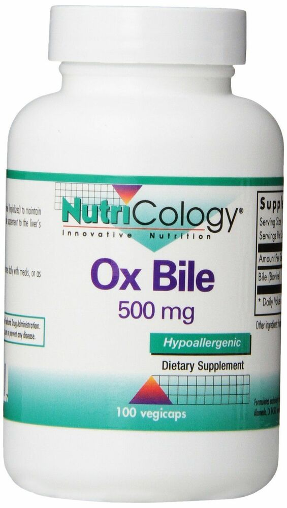 What is ox bile extract used for