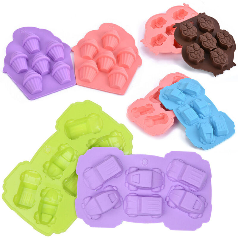 diy silicone mold fondant chocolate cake decorating baking tools mould soap mold ebay. Black Bedroom Furniture Sets. Home Design Ideas