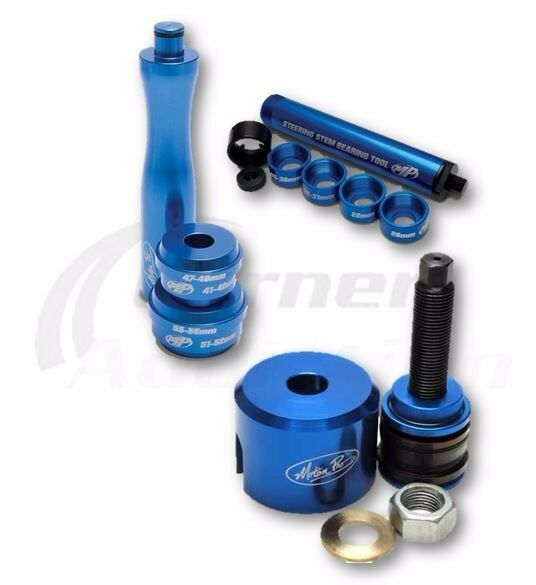 Bearing Race Puller Tool : Motion pro steering head bearing race puller driver and