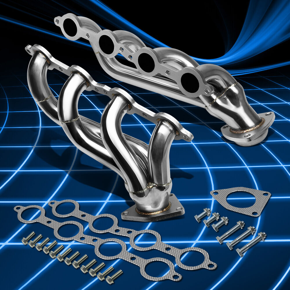 Fit Chevy/GMC 02-11 4.8/5.3/6.0 V8 Stainless Performance