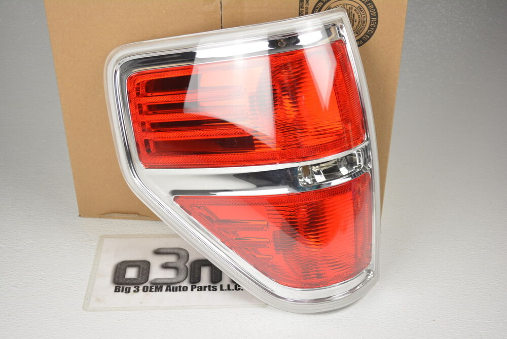2009 2014 ford f 150 lh driver side rear tail light lamp new oem bl3z. Black Bedroom Furniture Sets. Home Design Ideas