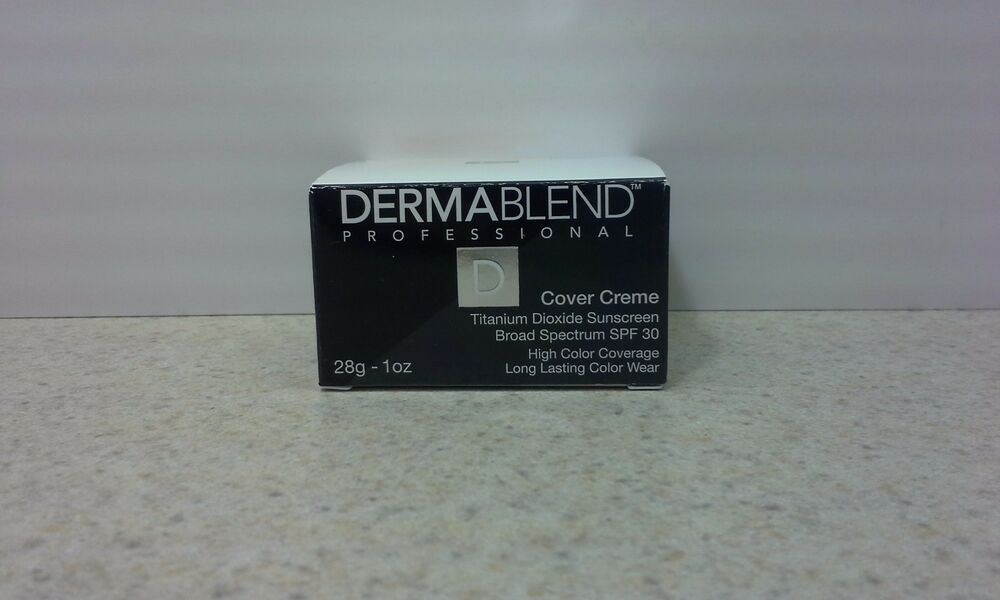 Dermablend Cover Creme Foundation Ebay