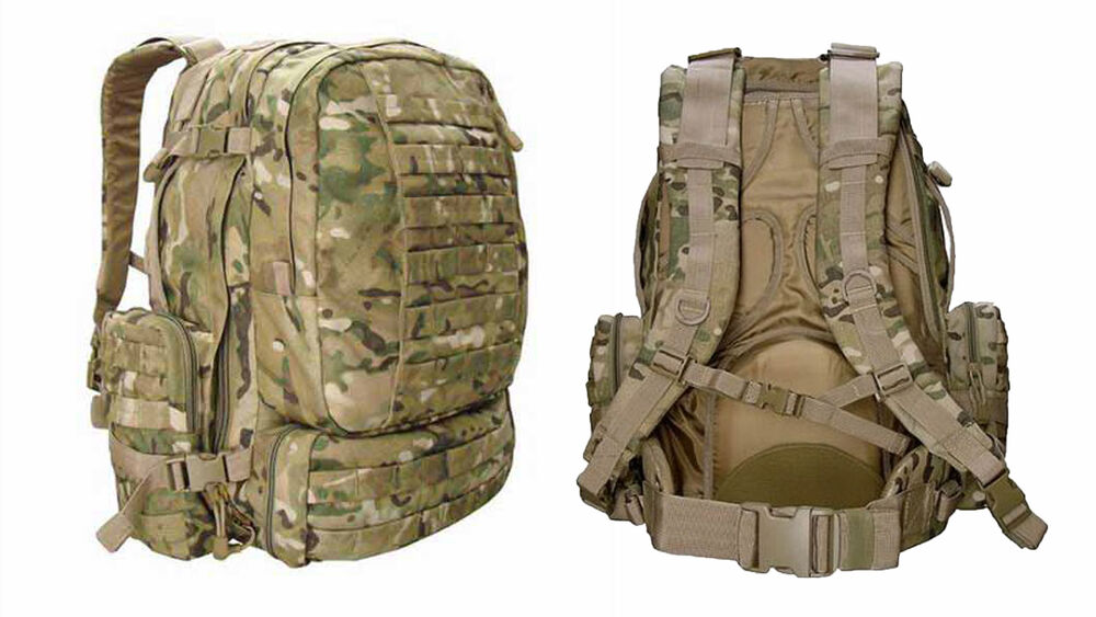 Condor Tactical 3 Day Assault Pack Multicam 125-008 MOLLE ...
