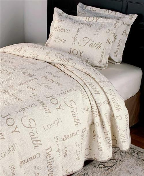 Chenille King Size Bedding