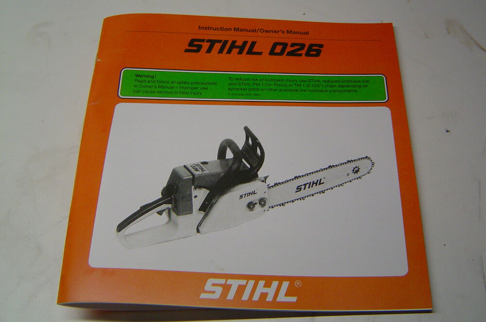 Free repair Manual Stihl 041