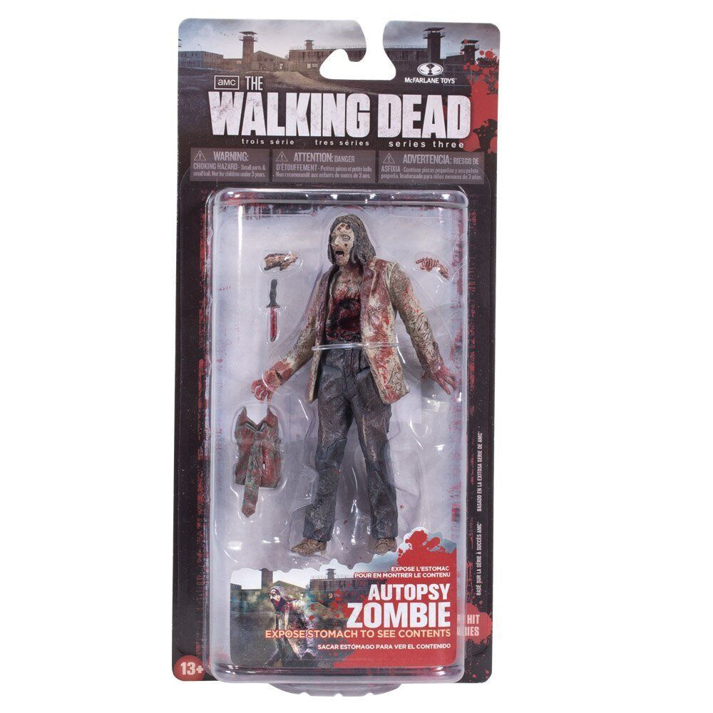 Like Toy Tv : The walking dead tv series autopsy zombie action figure