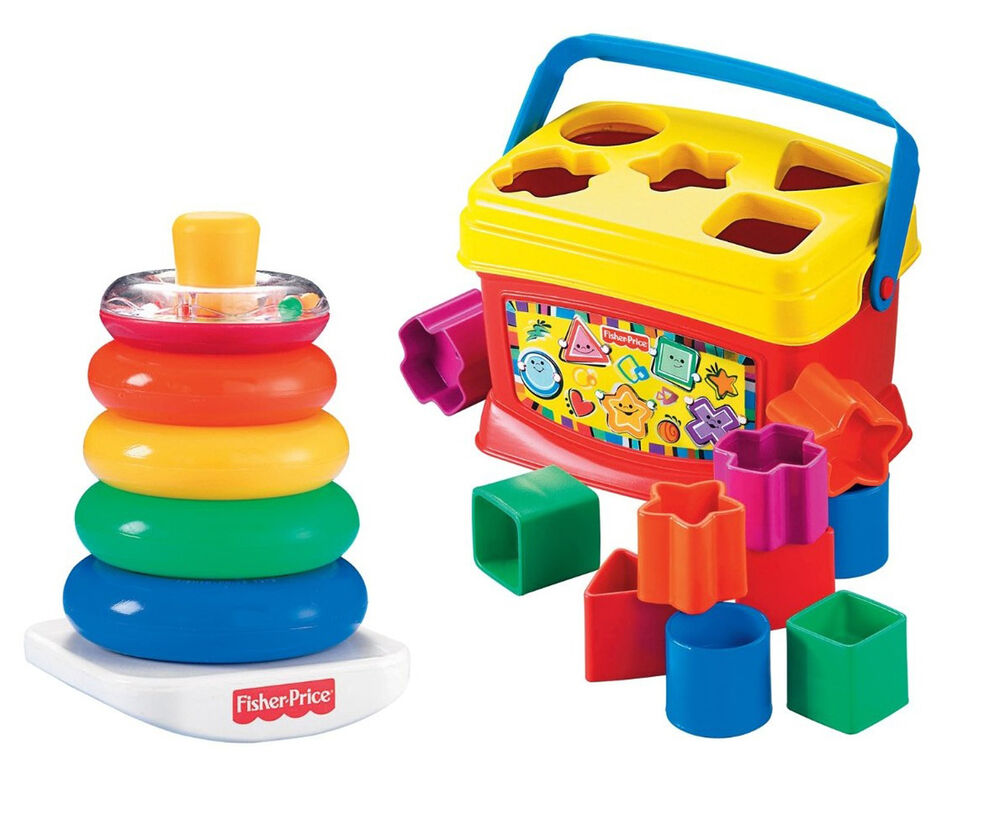 Baby Developmental Toys Set Educational Blocks Bundle