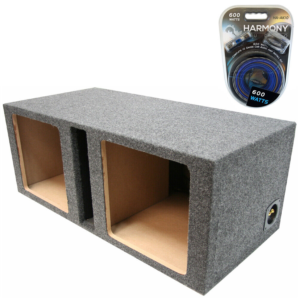 Kicker dual 10 solobaric ported l3 l5 l7 subwoofer sub for Box subwoofer in vetroresina