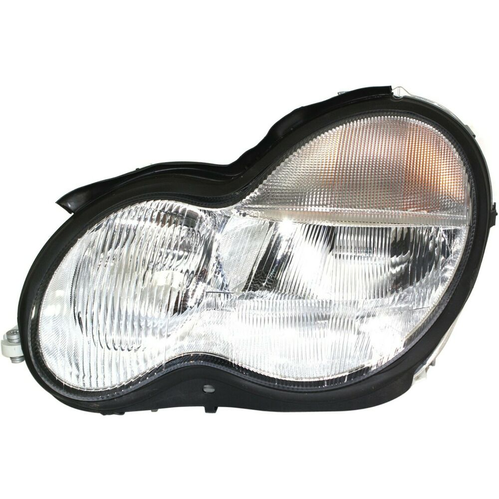 Headlight for 2001 2004 mercedes benz c240 2003 2004 c230 for Mercedes benz low beam bulb