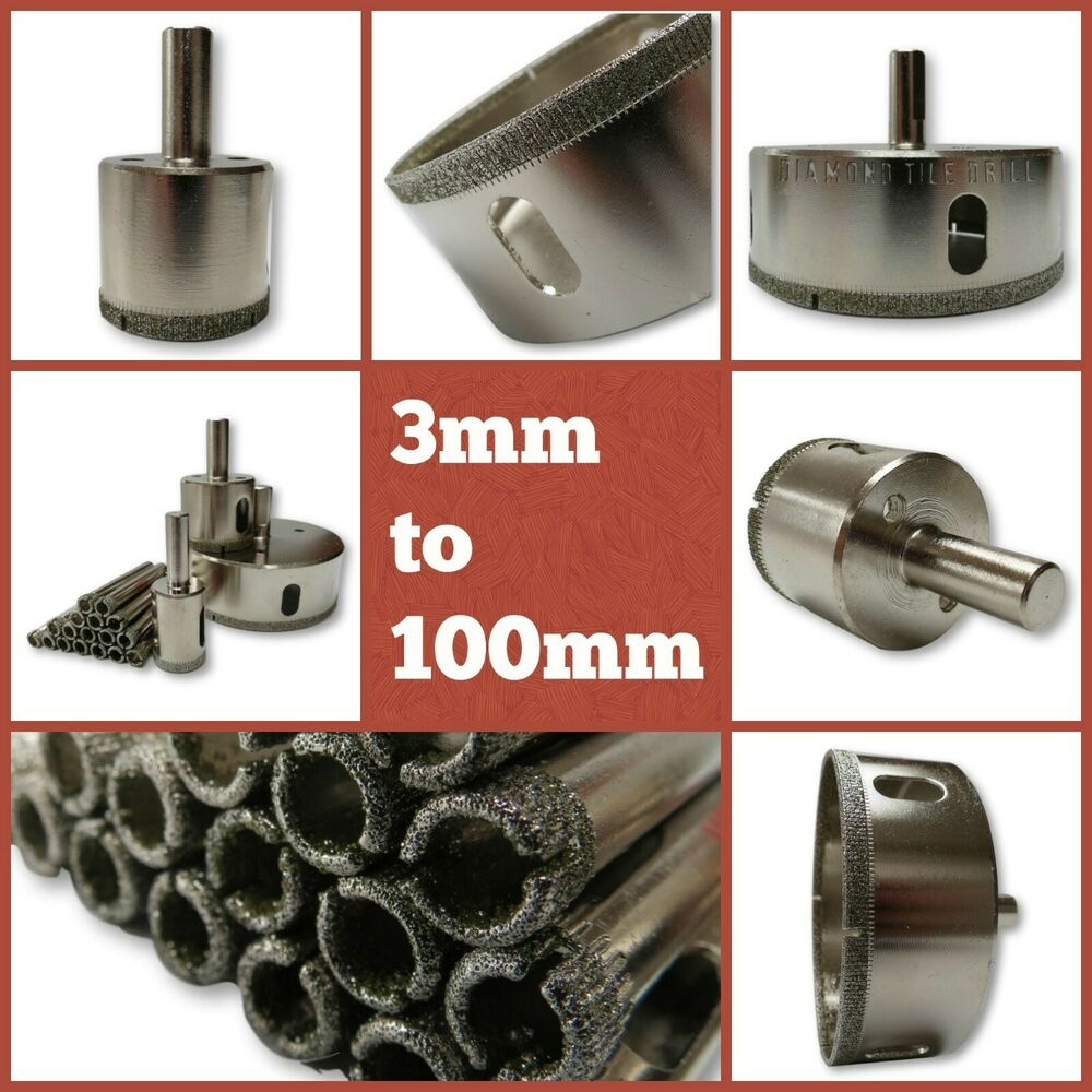10 mm Tile /& Glass Drill Bit