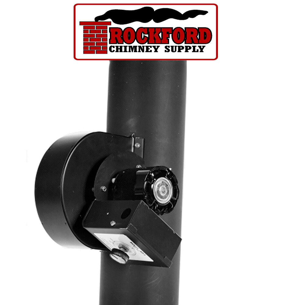 Tjernlund Ad 1 Auto Draft Fan For Wood Burning Stove Pipe