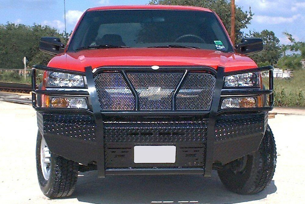03 Chevy Front Bumpers : For chevy silverado bumper full width black