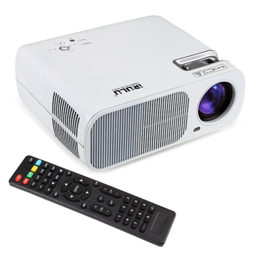 Led Lcd Projector X7 Home Cinema Theater Multimedia Led: IRULU WIFI Android 4.4 1080P LCD LED Home Theater Cinema