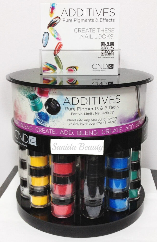Cnd Additives Effect Pigment Effect Nail Art For Shellac Brisa