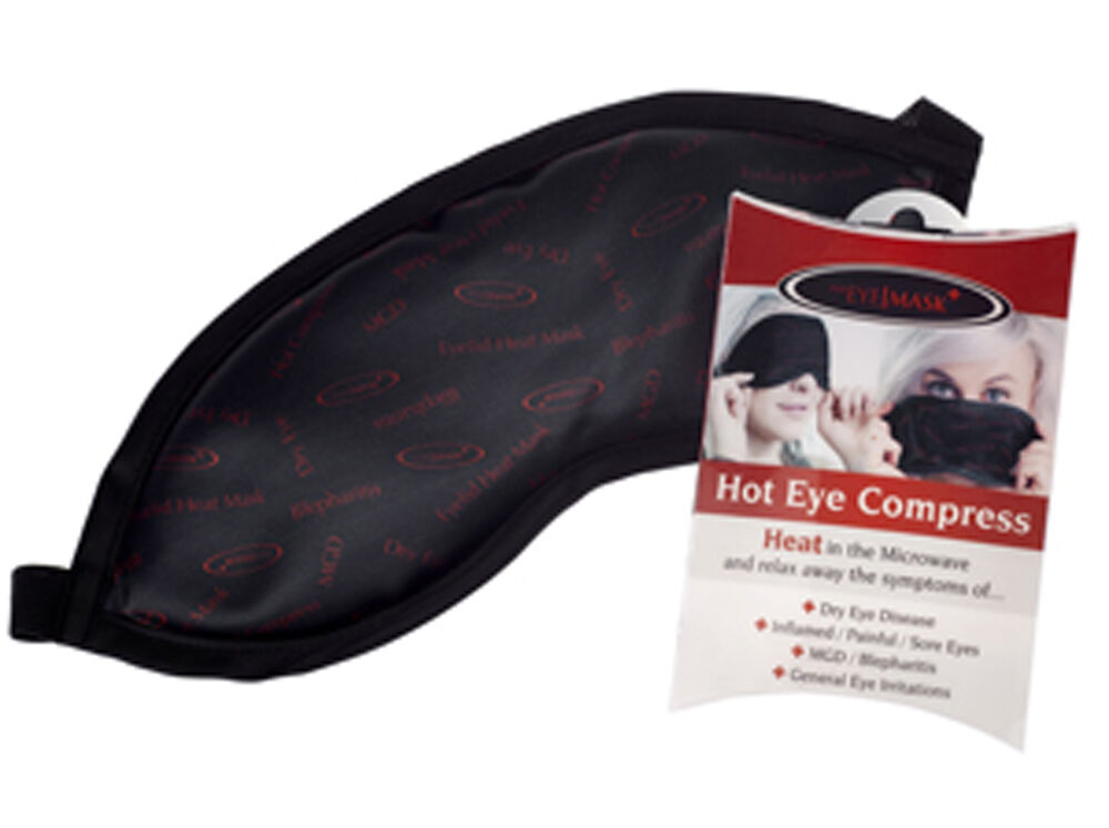 how to make hot compress for eye