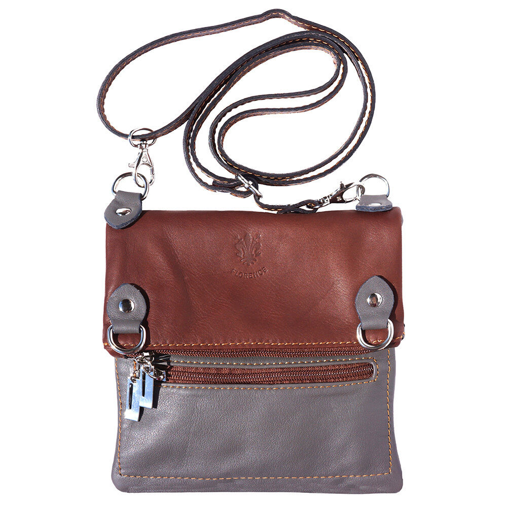 crossbody bag italian genuine leather made in italy