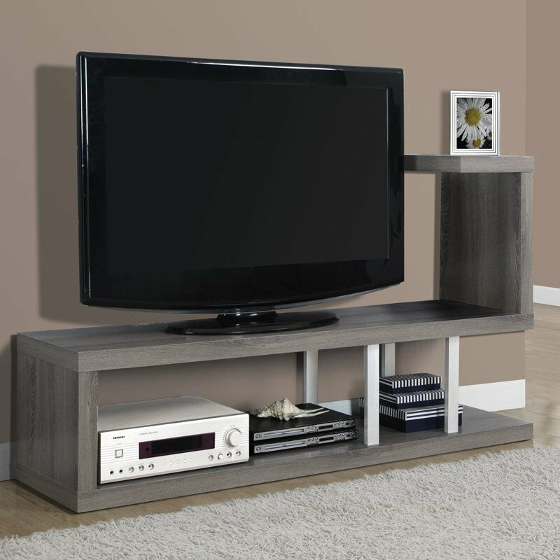 living room tv console modern tv stand entertainment center furniture storage 16277