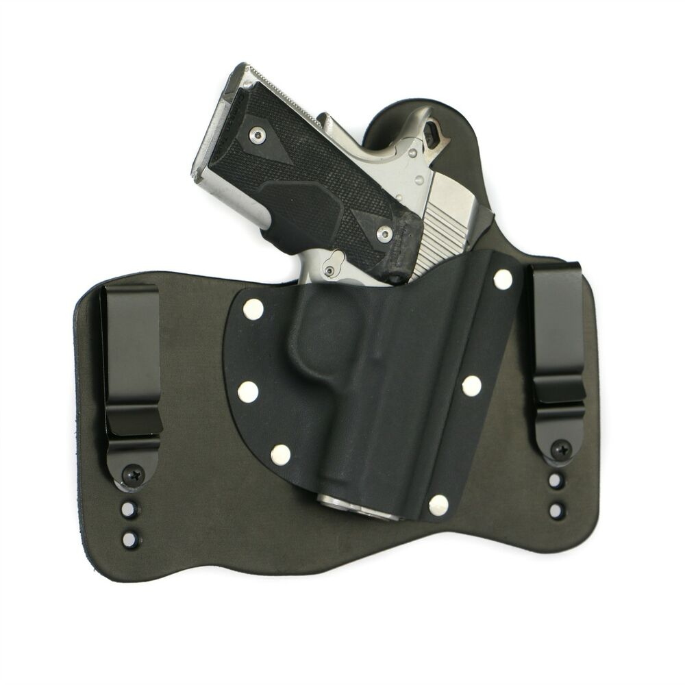 FoxX Leather & Kydex IWB Holster Kimber 1911 Ultra Carry ...