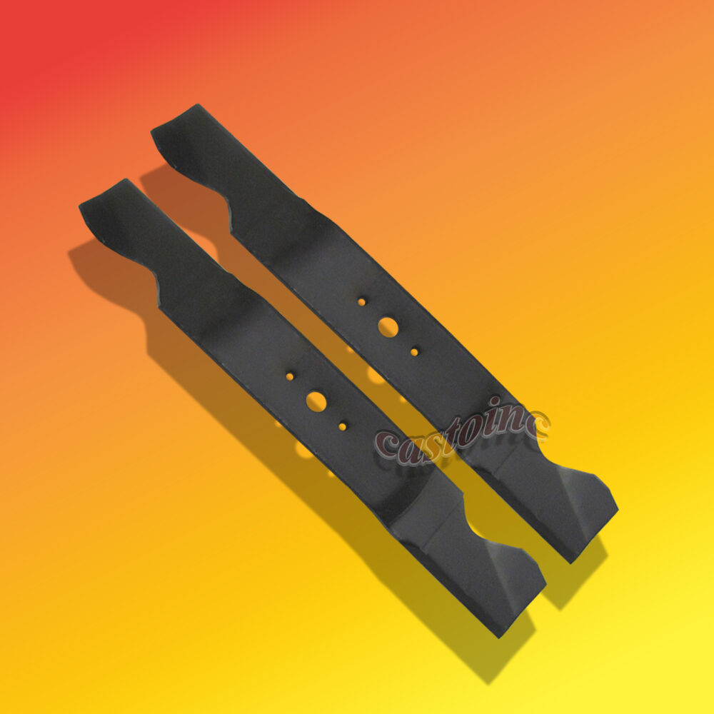 Mower Blades Set Of 2 For Cub Cadet Garden Tractor Models