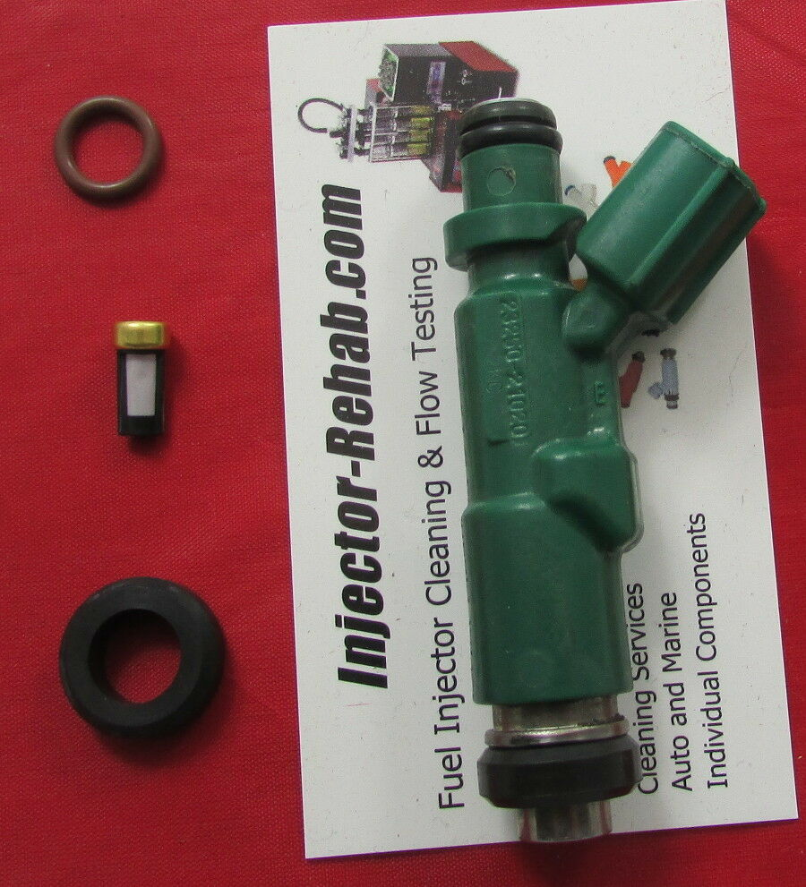fuel injector service repair kit toyota scion 1 5 echo prius xb o rings filters ebay. Black Bedroom Furniture Sets. Home Design Ideas