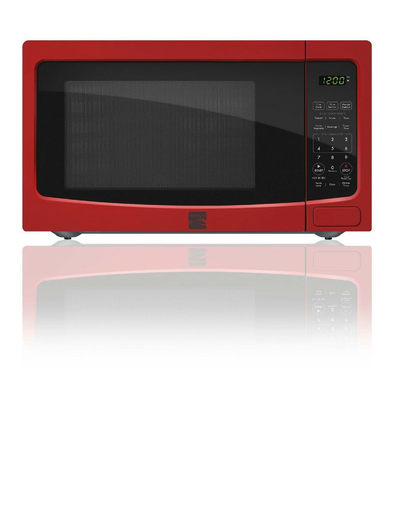 Kenmore 1.1 cu. ft. Countertop Microwave Oven - Red Free Shipping New ...