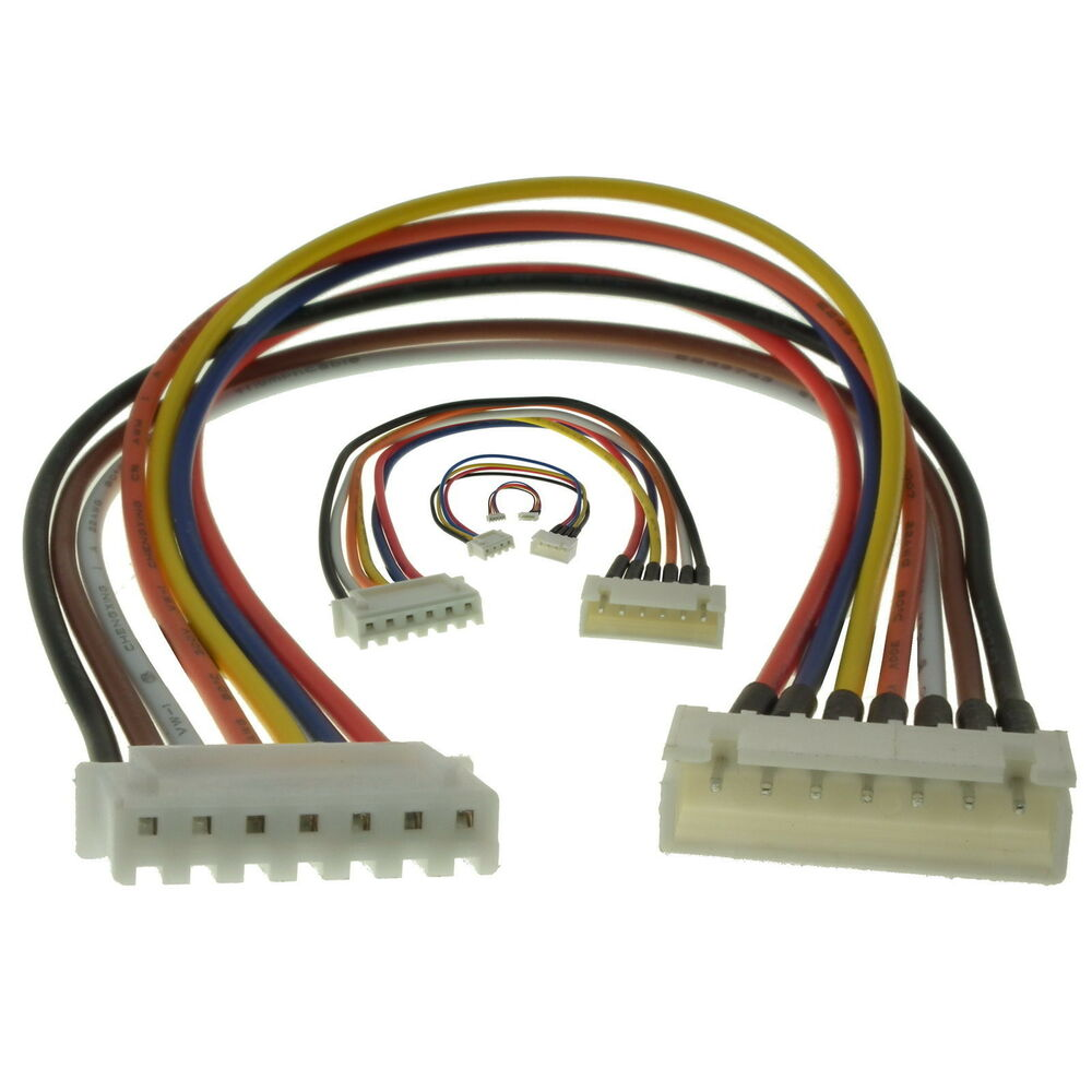 Jst Xh Lipo Life Balance Charger Extensions For 2s 3s 4s