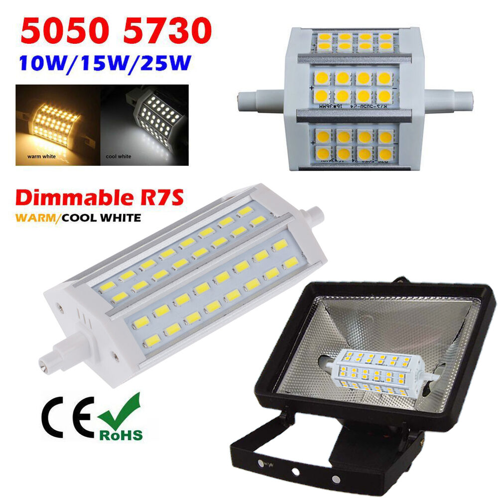 dimmable r7s j78 j118 j189 5050 5730 smd led flood light. Black Bedroom Furniture Sets. Home Design Ideas