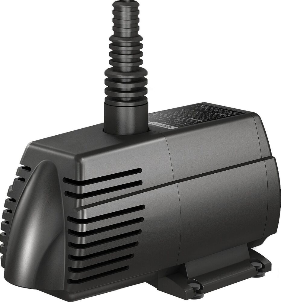 Aquascape ultra pumps submersible fountain waterfall for Submersible pond pump with filter