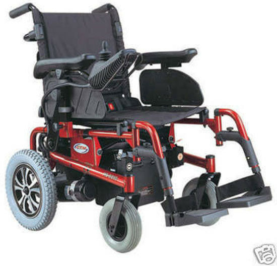 New C T M Hs 6200 Folding Electric Power Chair Red Ebay