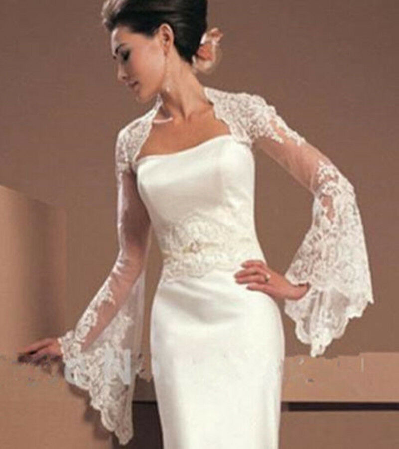 Fast shipping wedding jacket long sleeve bridal jacket for Sell your wedding dress fast