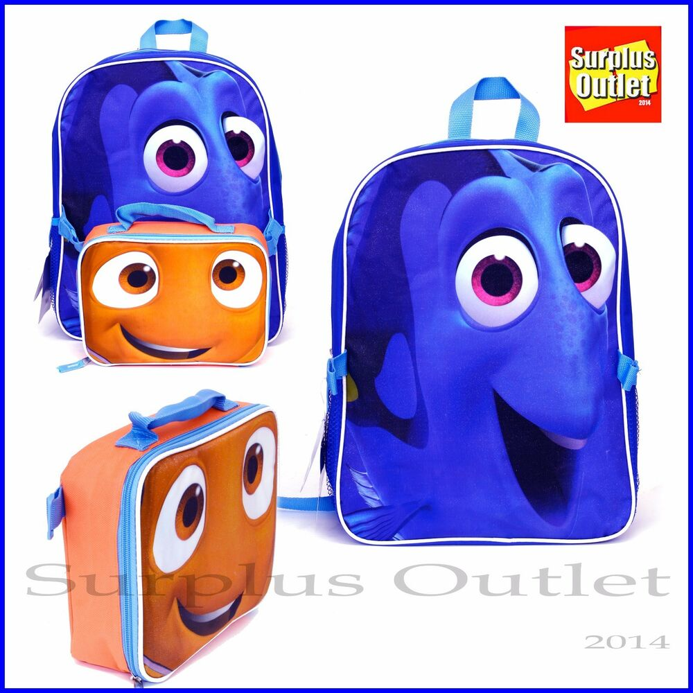 bdb5c41a12a Details about Finding Dory Backpack 16