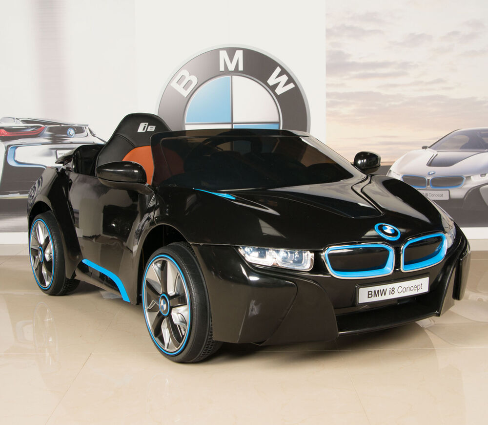 BMW I8 12V Ride On Kids Battery Power Wheels Car RC Remote