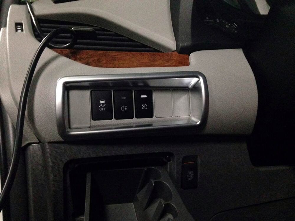 interior head light switch button cover trim 1pcs for toyota sienna 2011 2016 ebay. Black Bedroom Furniture Sets. Home Design Ideas