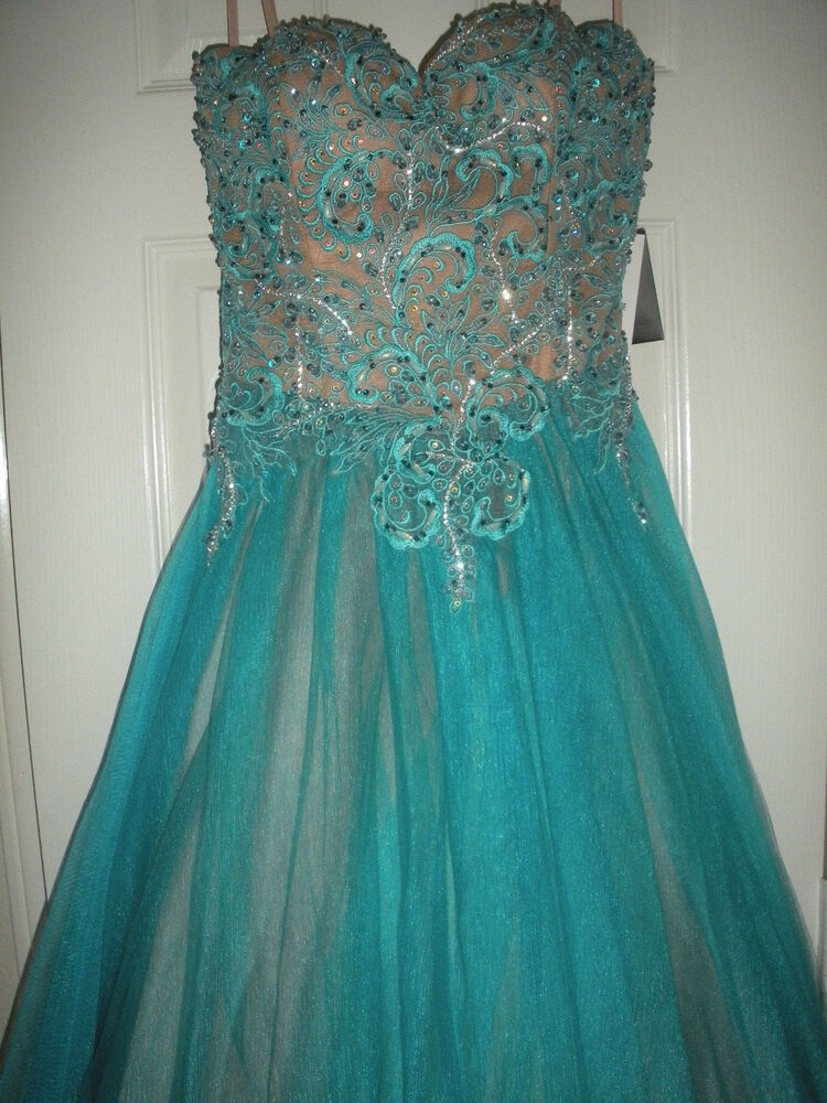 389 New Womens Terani Couture Prom Homecoming Dress Size