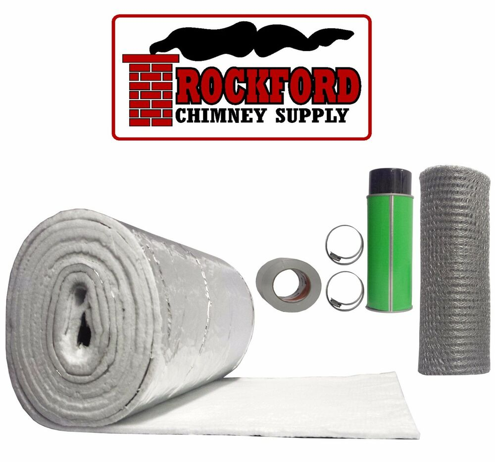Chimney Liner Insulation Kit For 3 In To 6 In Diameter X