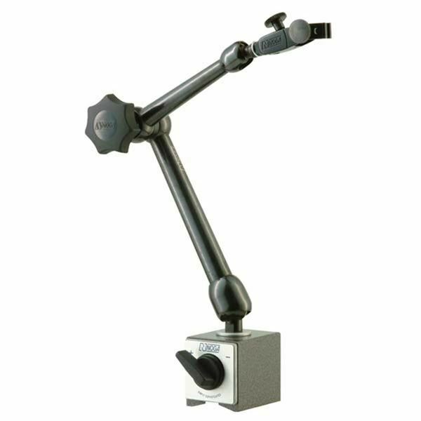 Hydraulic Arm With Magnetic Base Indicator : Noga mg dial gage holder magnetic base holding power